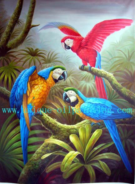 Bird Oil Painting Bird Animal Oil Painting Oil Painting Oil
